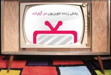 پخش زنده تلویزیونی، سرویس تازه سایت آپارات