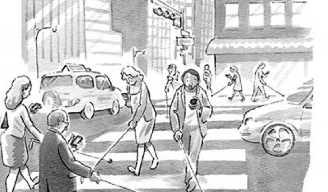 این نقاشیها نشان میدهد که چطور اعتیاد به تکنولوژی، زندگی ما را تحت تاثیر میگذارد