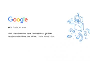سرویسهای گوگل دوباره از دسترس خارج شدند