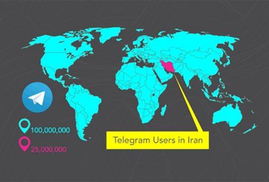 میدانید هر ایرانی چند کانال تلگرام عضو است؟